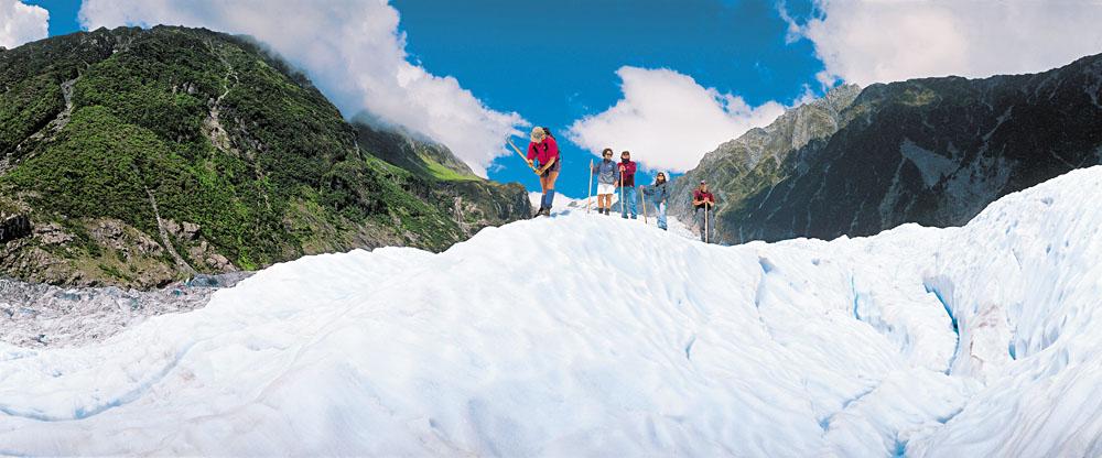 Franz Josef Glacier walk, New Zealand