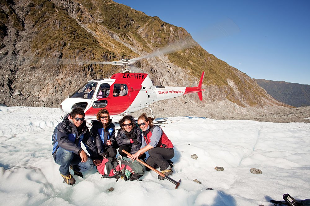 Glacier Helicopter Tour, New Zealand