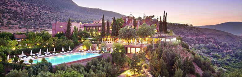 Kasbah Tamadot Hotel - Exterior, Atlas Mountains, Marrakesh, Morocco