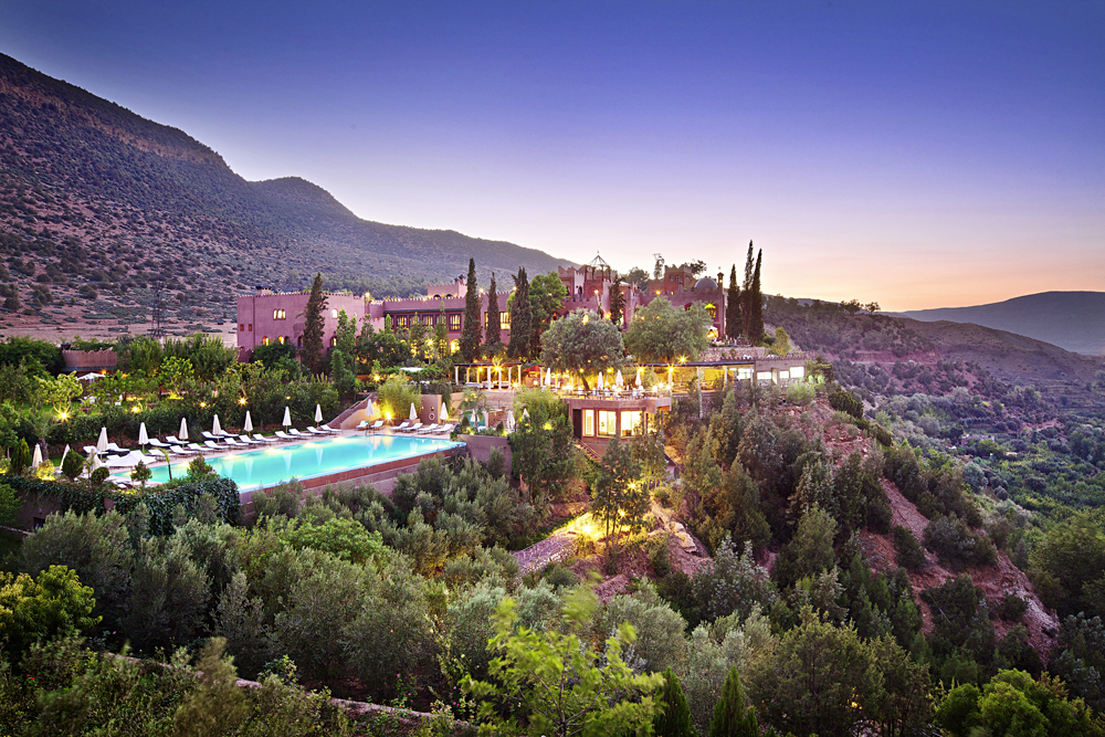 Kasbah Tamadot Hotel - Exterior, Atlas Mountains, Marrakesh, Morocco