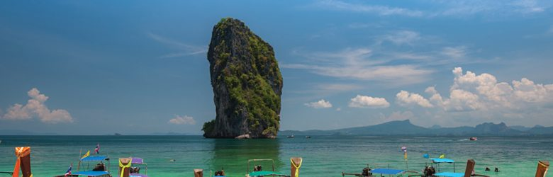 Long Tailed Boats, Krabi, Thailand (Image courtesy of Tourism Thailand)