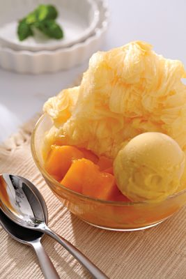 Mango Shaved Ice from Ice Monster, Taipei, Taiwan (Photo Credit - Ice Monster)