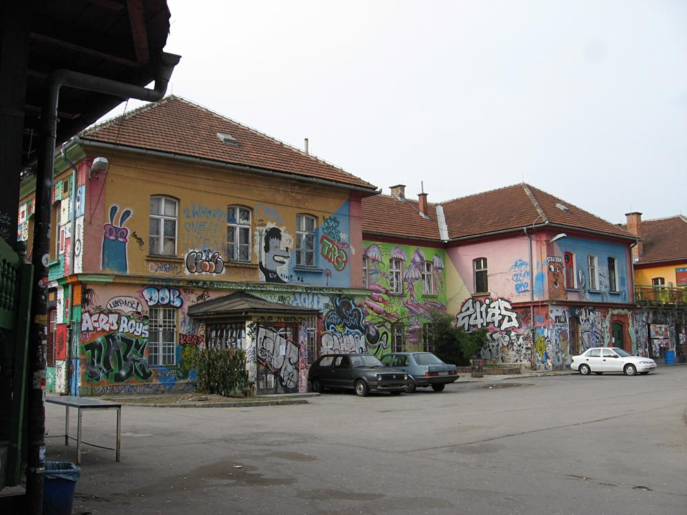 Metelkova City, Ljubljana, Slovenia