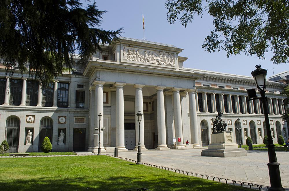 Museo del Prado (Prado Museum) in Madrid, Spain