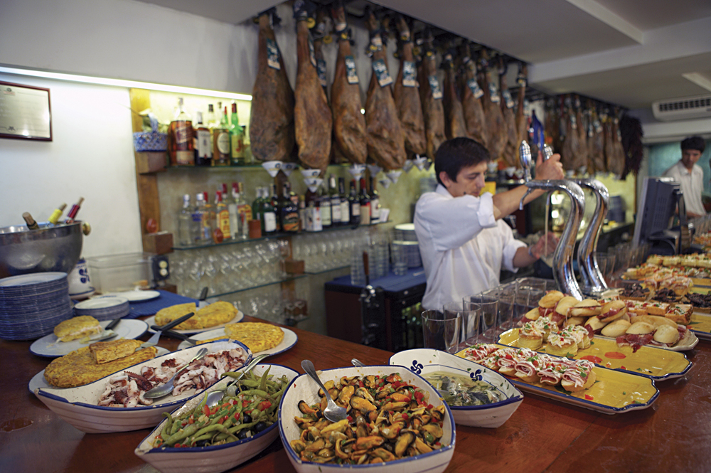 Tapas bar, San Sebastion, Spain