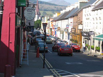 Street Scene in Kenmare, Southern Ireland