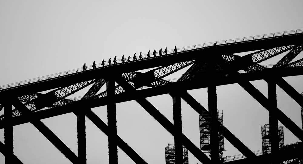 Travelling with a Group on the Sydney Harbour Bridge Climb