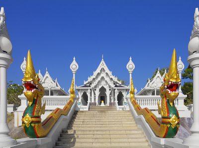 Wat Kaew Temple in Krabi Town, Thailand