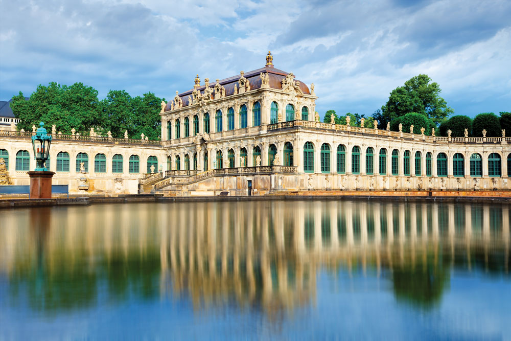 Zwinger Palace Courtyard, Dresden, Germany