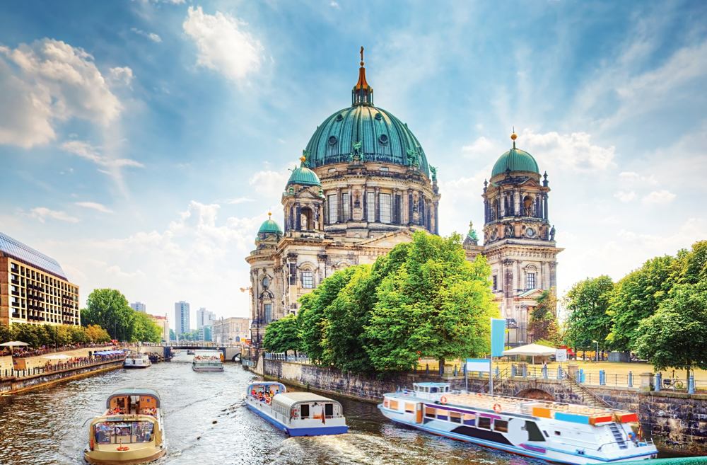 Berliner Dom Cathedral, a famous landmark on the Museum Island in Mitte, Berlin, Germany