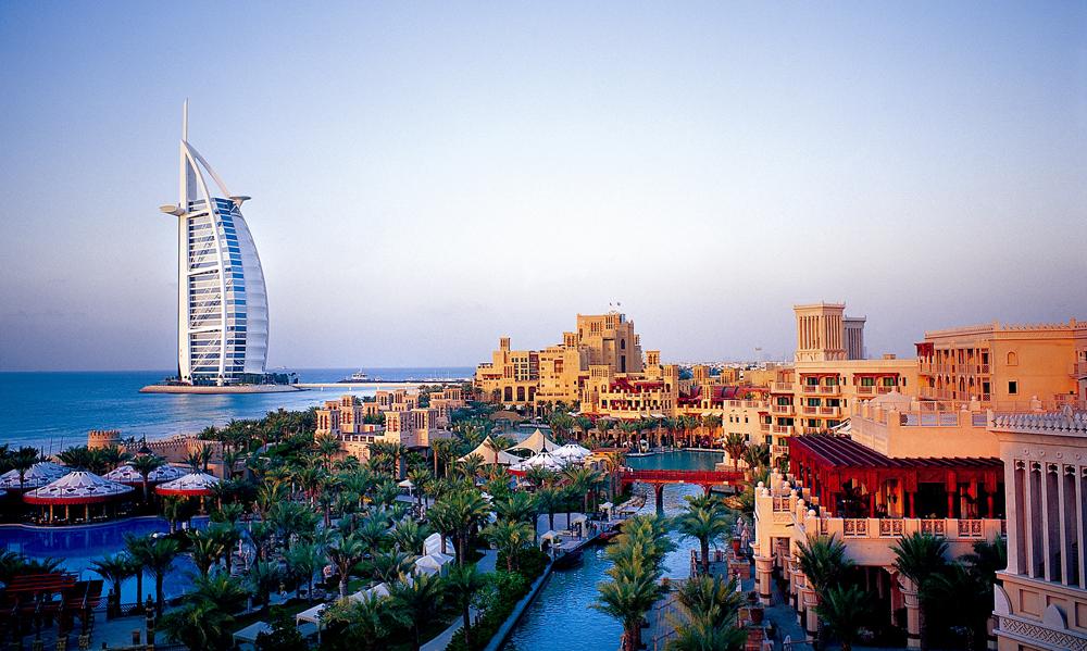 Burj Al Arab in Dubai, United Arab Emirates (UAE)