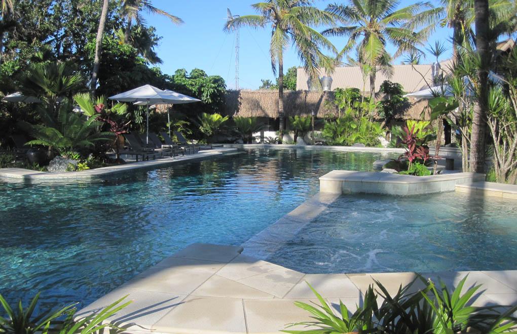 Castaway Island pool area