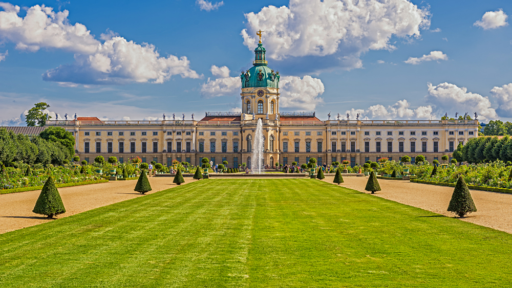 Charlottenburg Palace and Garden, Berlin, Germany