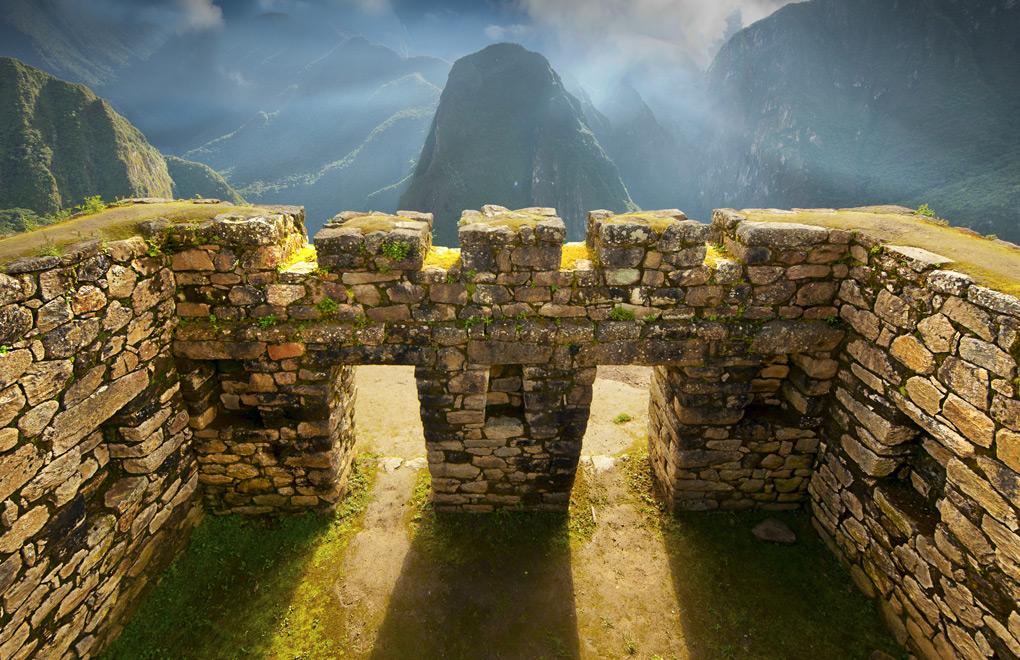 Machu Picchu Arches.
