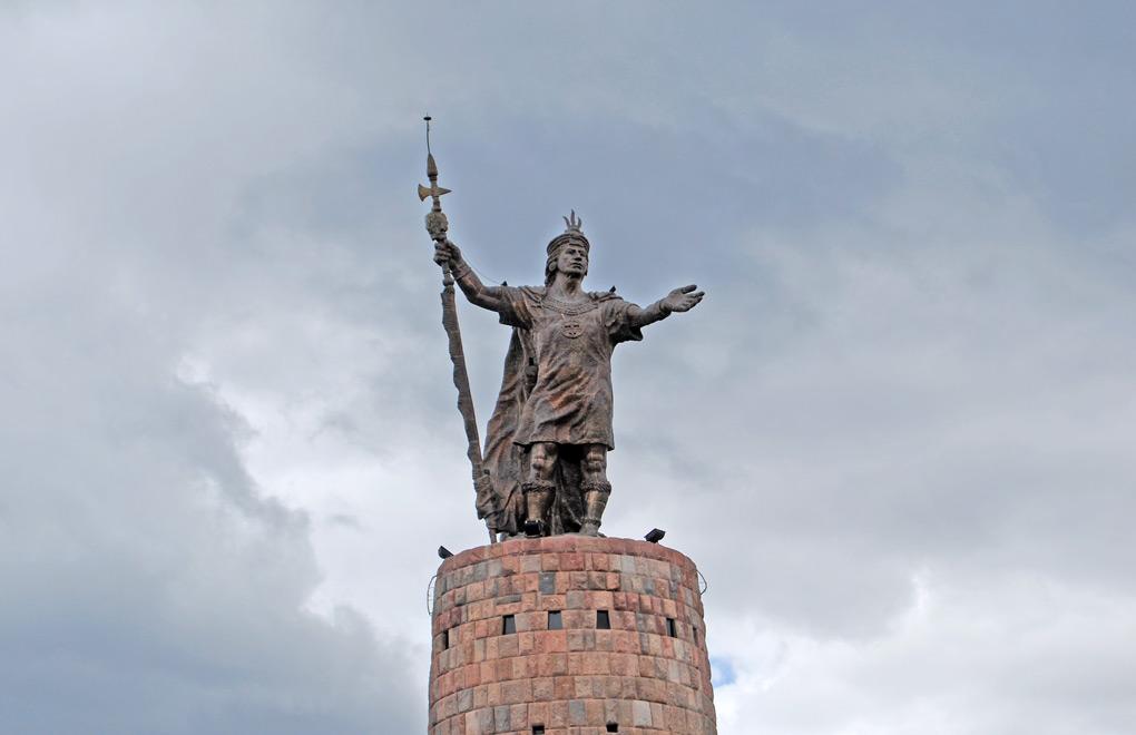 Pachacutec Statue, Cuzco.