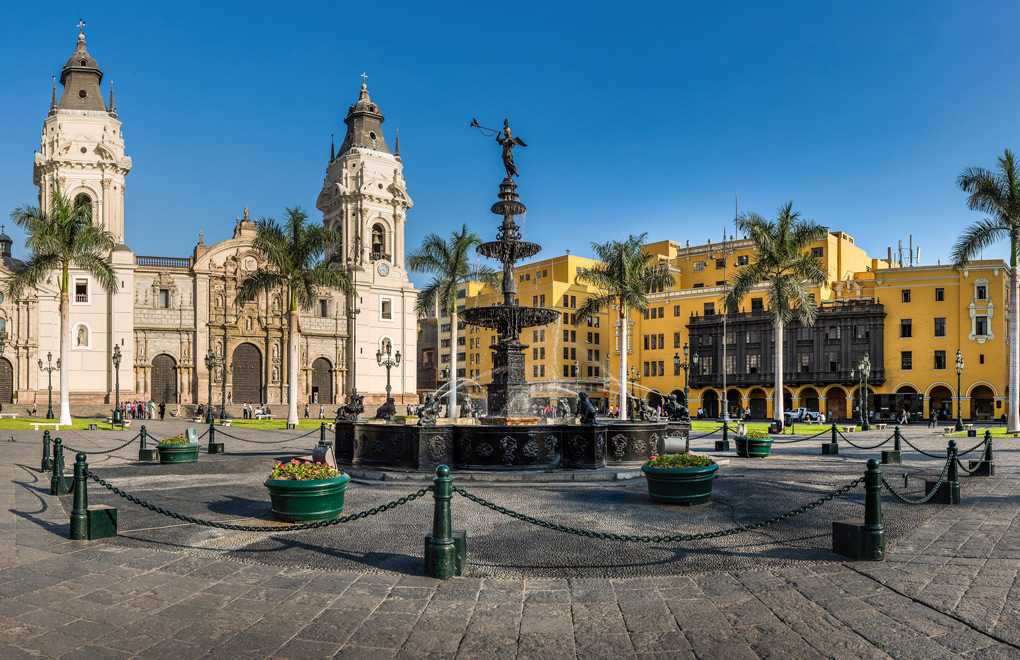 Plaza Mayor, Lima.