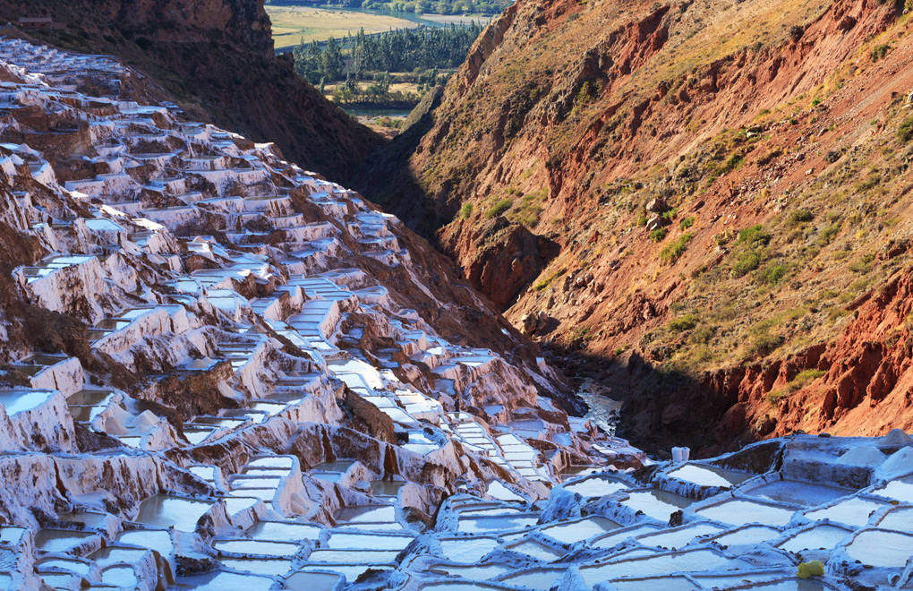Salt Ponds, Sacred Valley.