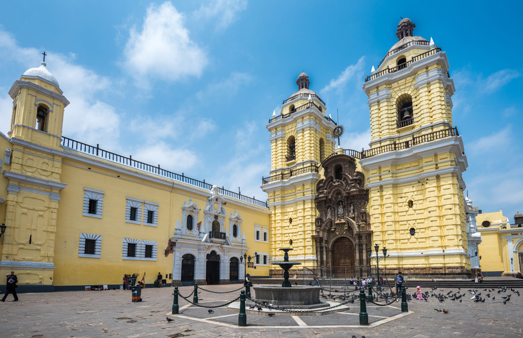 The San Francisco Church and Monastery of Lime is a must visit for any Peru vacation .