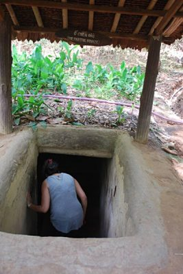 Soran Prasad - Entering the Cu Chi Tunnels, Ho Chi Minh City (Saigon), Vietnam