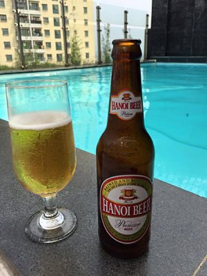 Soran Prasad - Locally bottled and brewed Hanoi Beer, Vietnam
