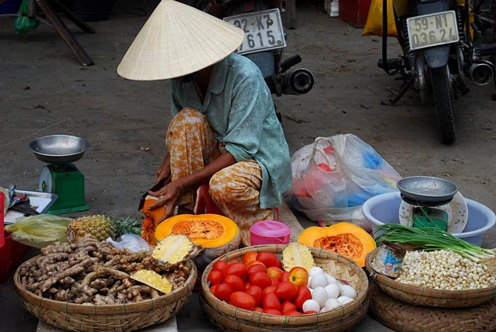 Soran Prasad - Saigon Market Vendor, Vietnam