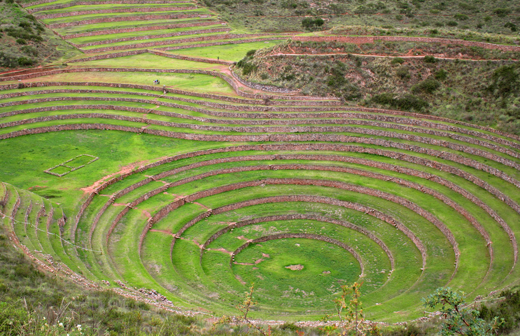 Terraces of Moray.