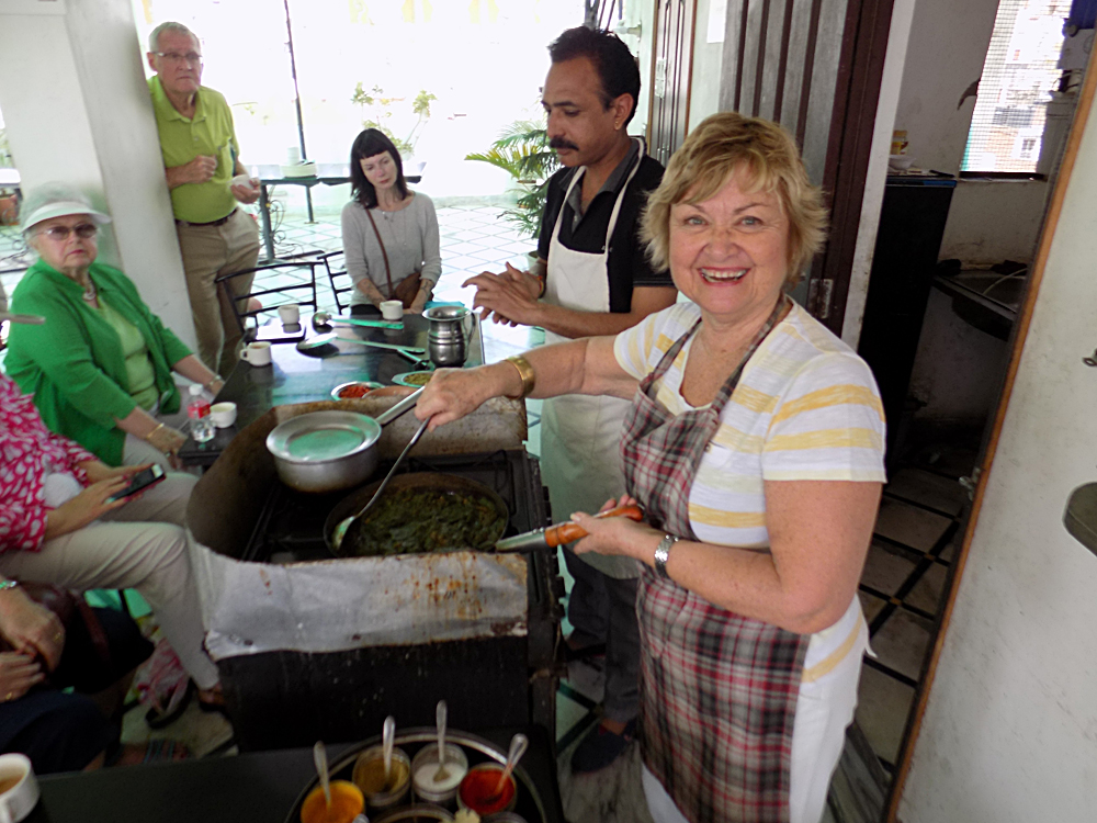Anthony Saba - Our Traveller, Writer, and Chef, Penny Hughes in India