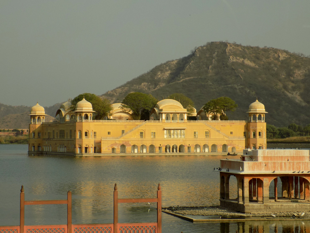 Anthony Saba - The Water Palace in Jaipur, India