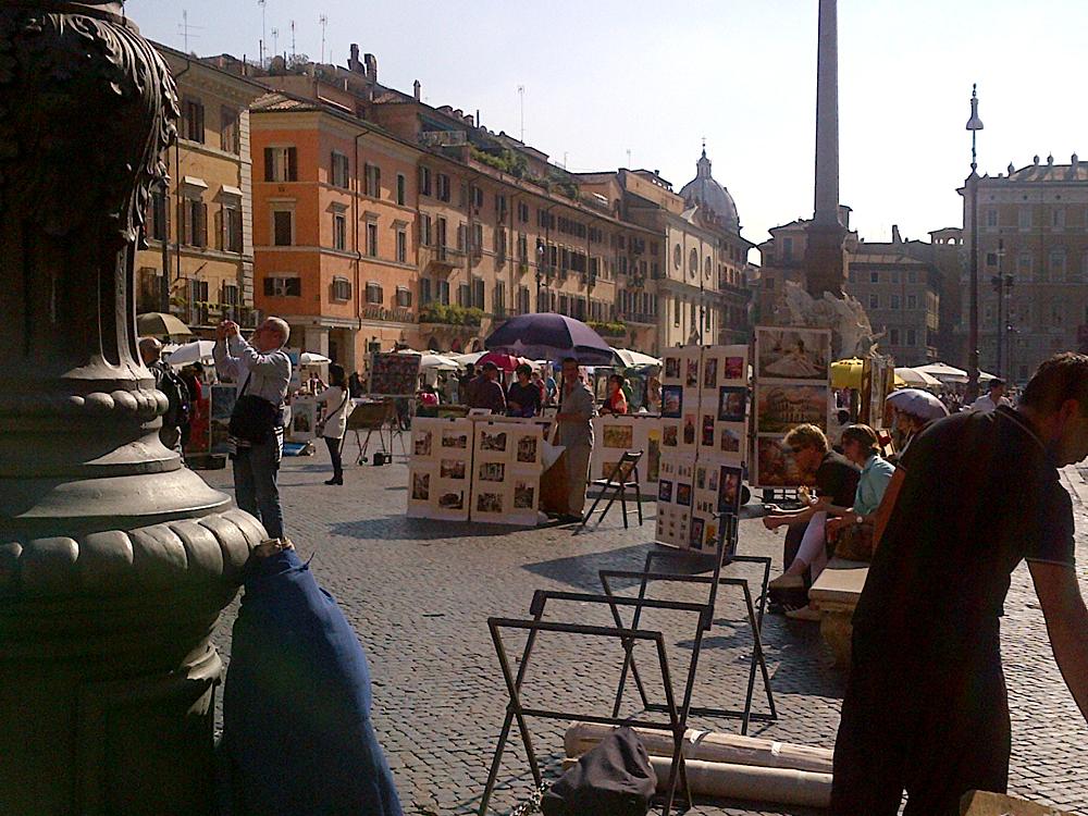 Bob - Artists in Piazza Navona, Rome, Italy