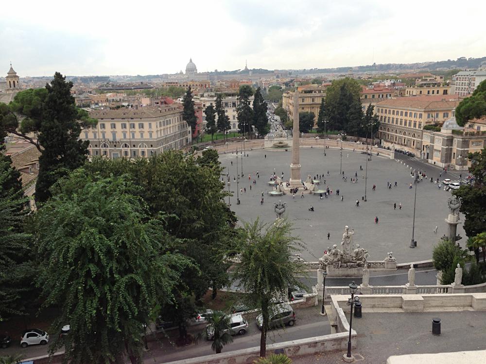 Bob - Piazza del Popolo, Rome, Italy