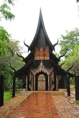 Carolyn Weppler - Baan Dam or Black House in Chiang Rai, Thailand