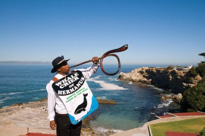 Hermanus Whale Crier, South Africa