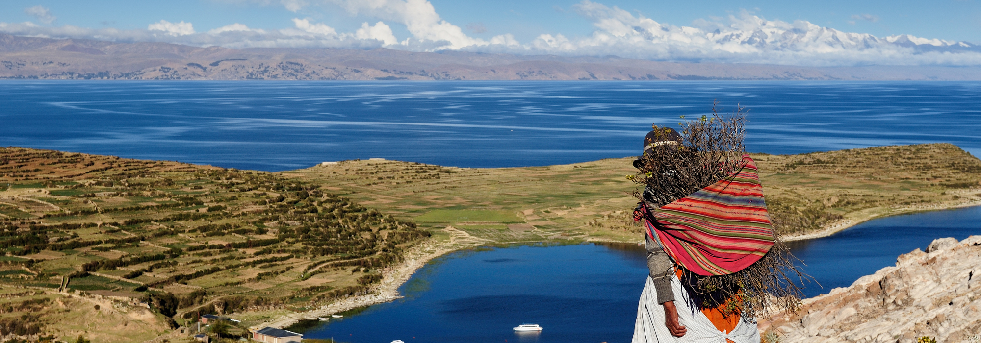 Isla del Sol on Lake Titicaca, Bolivia