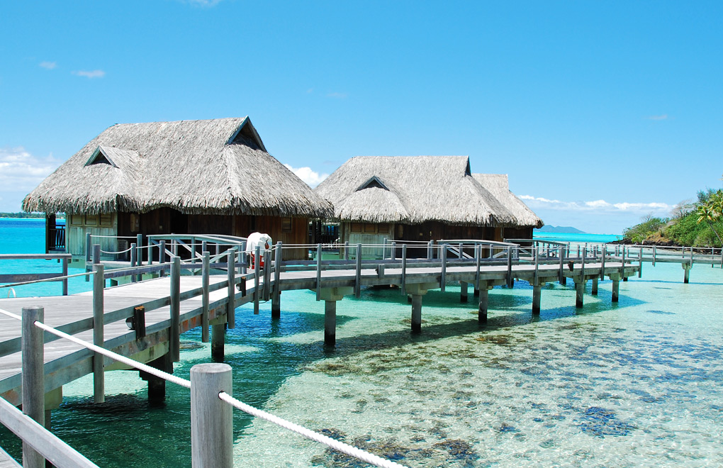 Overwater Bungalows, Bora Bora.