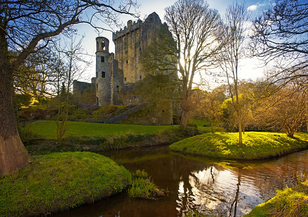 Blarney Castle, Home of the World Famous Blarney Stone, Cork, Ireland
