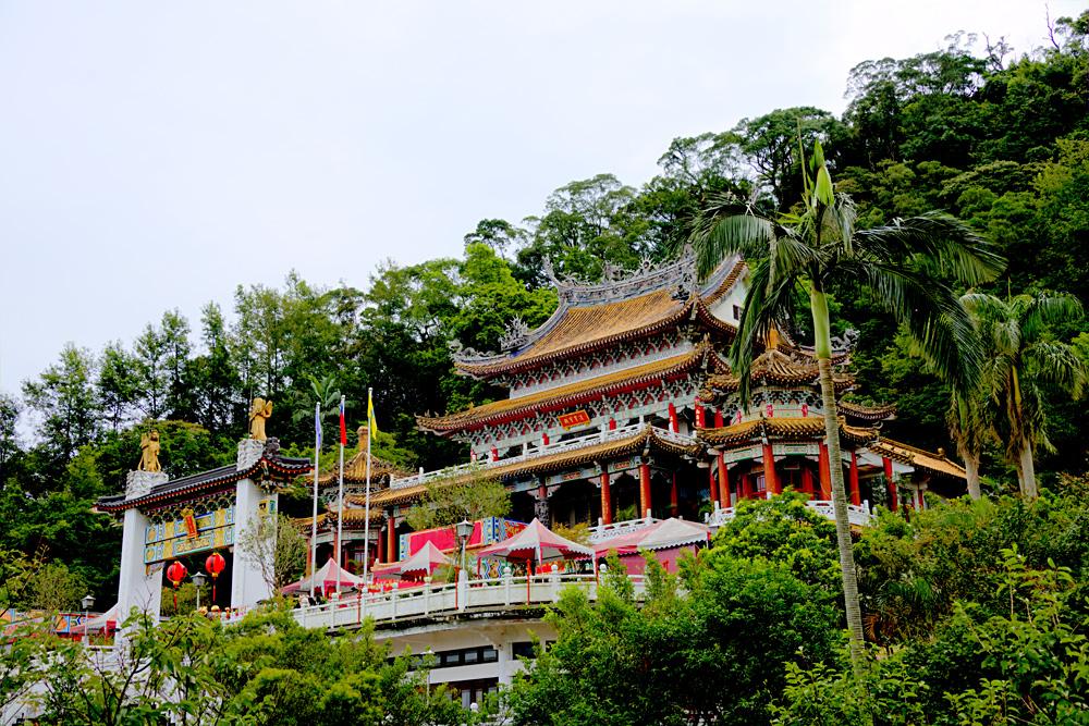 Chi Nan Temple in Maokong, Taipei, Taiwan