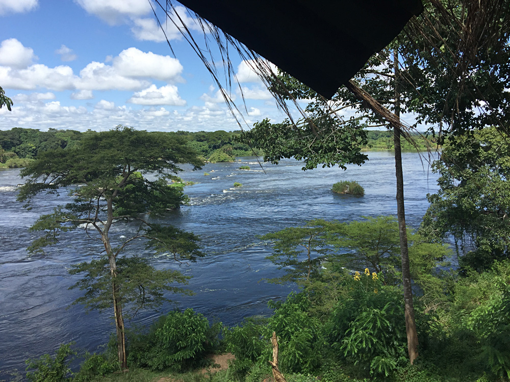David Zolis - The Nile as seen from the Paraa Safari Lodge, Uganda