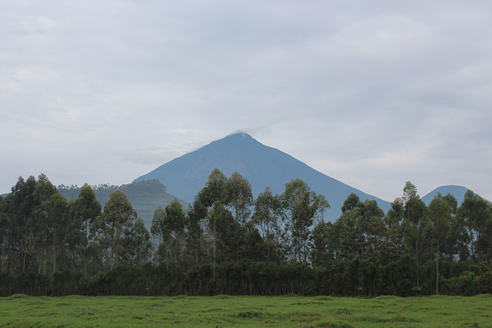 David Zolis - Rwenzori Mountains stretching across Queen Elizabeth National Park, Uganda