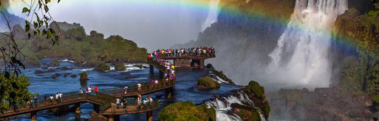 Iguassu Falls Argentina Brazil