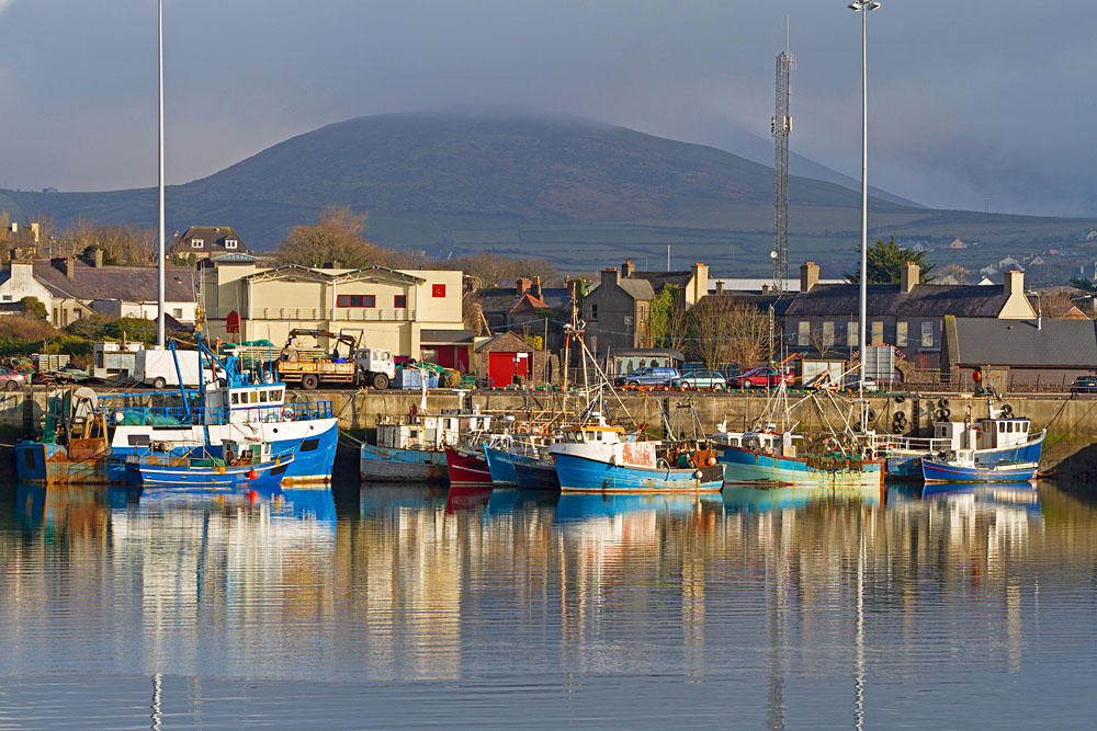 Irish seaport in Dingle, County Kerry, Ireland