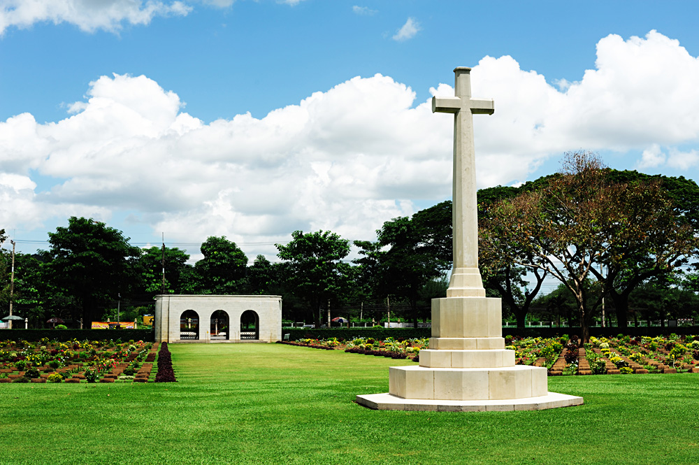 Kanchanaburi War Cemetery, Thailand