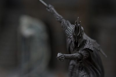 Ringwraith Collectible at Weta Workshop, Wellington, New Zealand