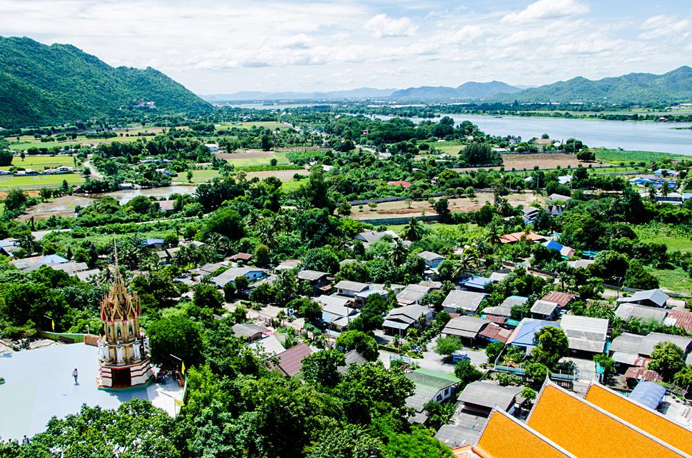 River Kwai Mon community in Kanchanaburi, Thailand
