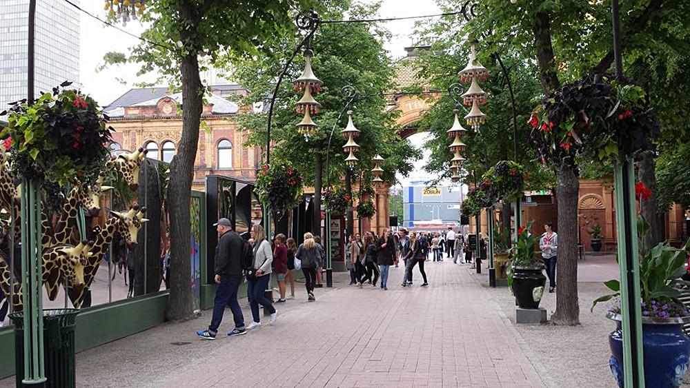 Christian Baines - Tivoli Gardens, Copenhagen, Denmark