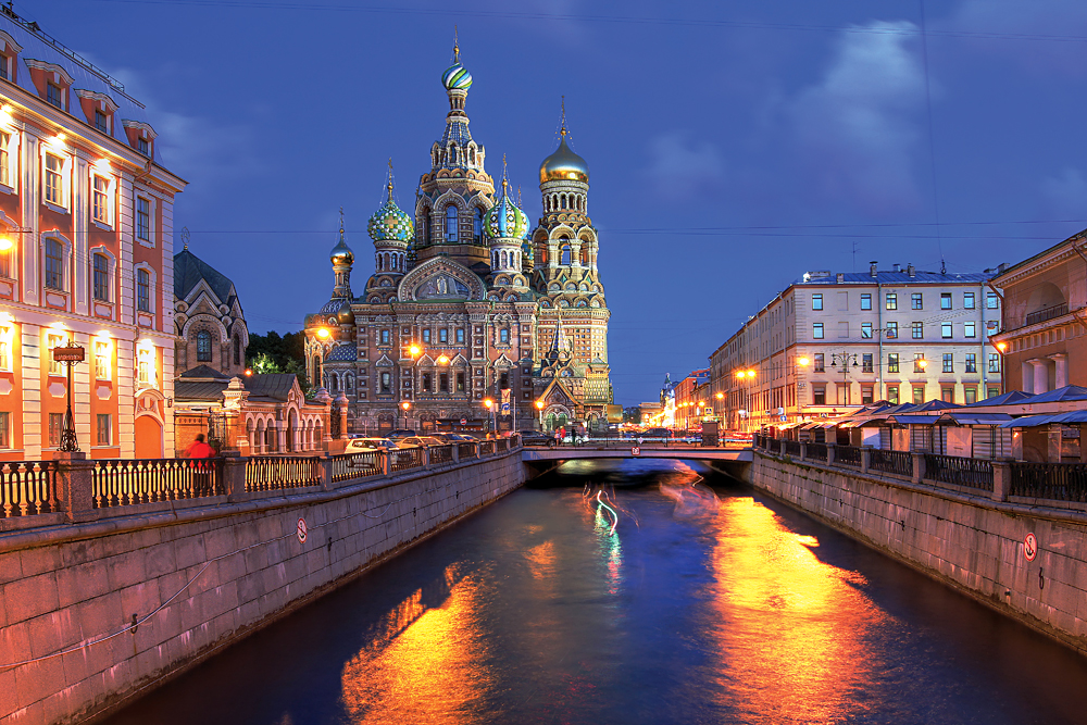Church on Spilled Blood in Saint Petersburg, Russia
