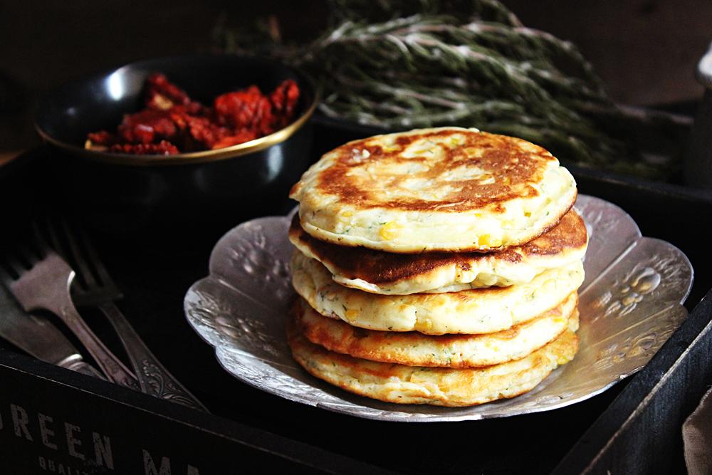 Chorreadas - Corn Pancakes