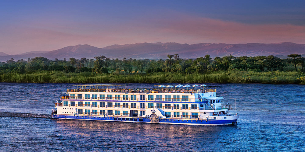 Oberoi Philae Nile River Cruise, Egypt