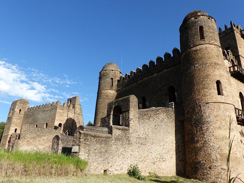 Raewyn Reid - Fasilides Castle in Gondar, Ethiopia