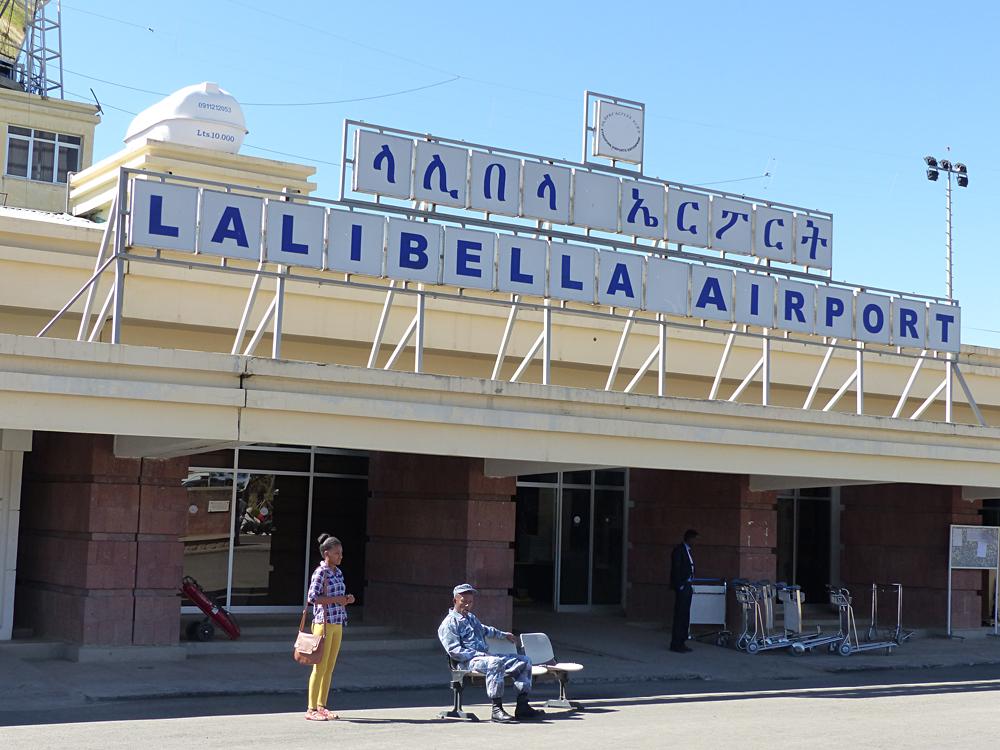 Raewyn Reid - Lalibela Airport, Ethiopia