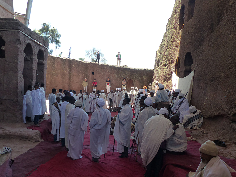 Raewyn Reid - Pilgrimage to Rock Hewn Churches in Lalibela, Ethiopia